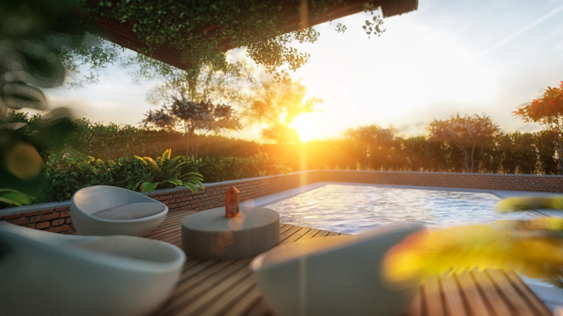 Studio Grafico Fattori Tobia - progettazione rendering piscina